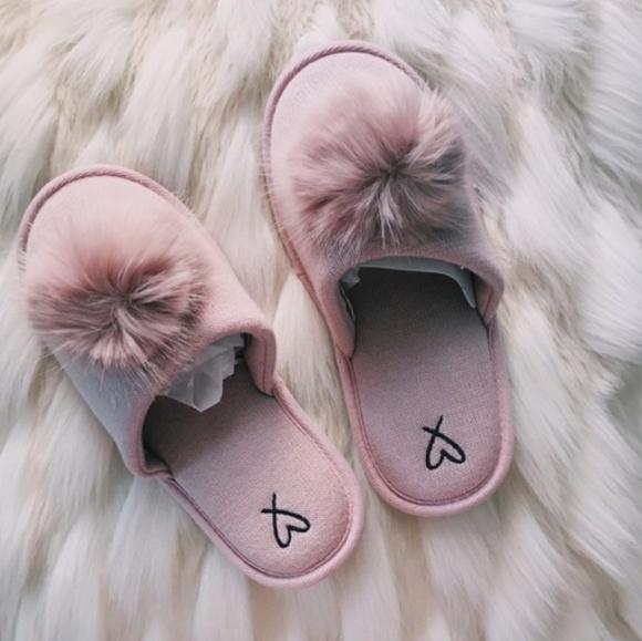 6d0057f18c Victoria s Secret Pom-Pom Slippers